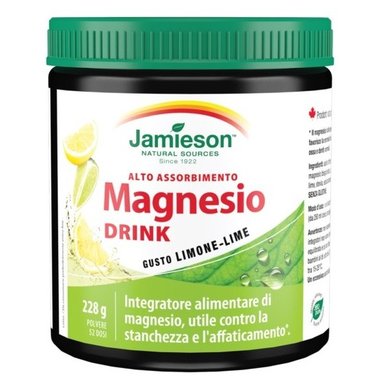 JAMIESON MAGNESIO DRINK 228 G